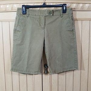 New York &Company Army green shorts, sz 2